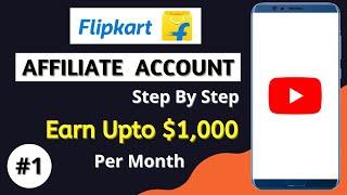 how to join flipkart affiliate program in hindi