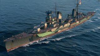 World of Warships - Molotov Tier 6 Russian Premium Cruiser Overview