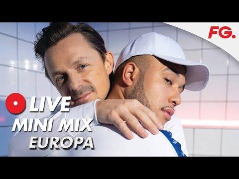 "MARTIN SOLVEIG & JAX JONES - EUROPA   ""ALL DAY AND NIGHT""   LIVE MIX   RADIO FG"
