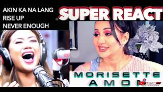 Vocal Coach REACTS to MORISSETTE AMON Akin Ka NaLang + Rise Up + Never Enough    Lucia Sinatra