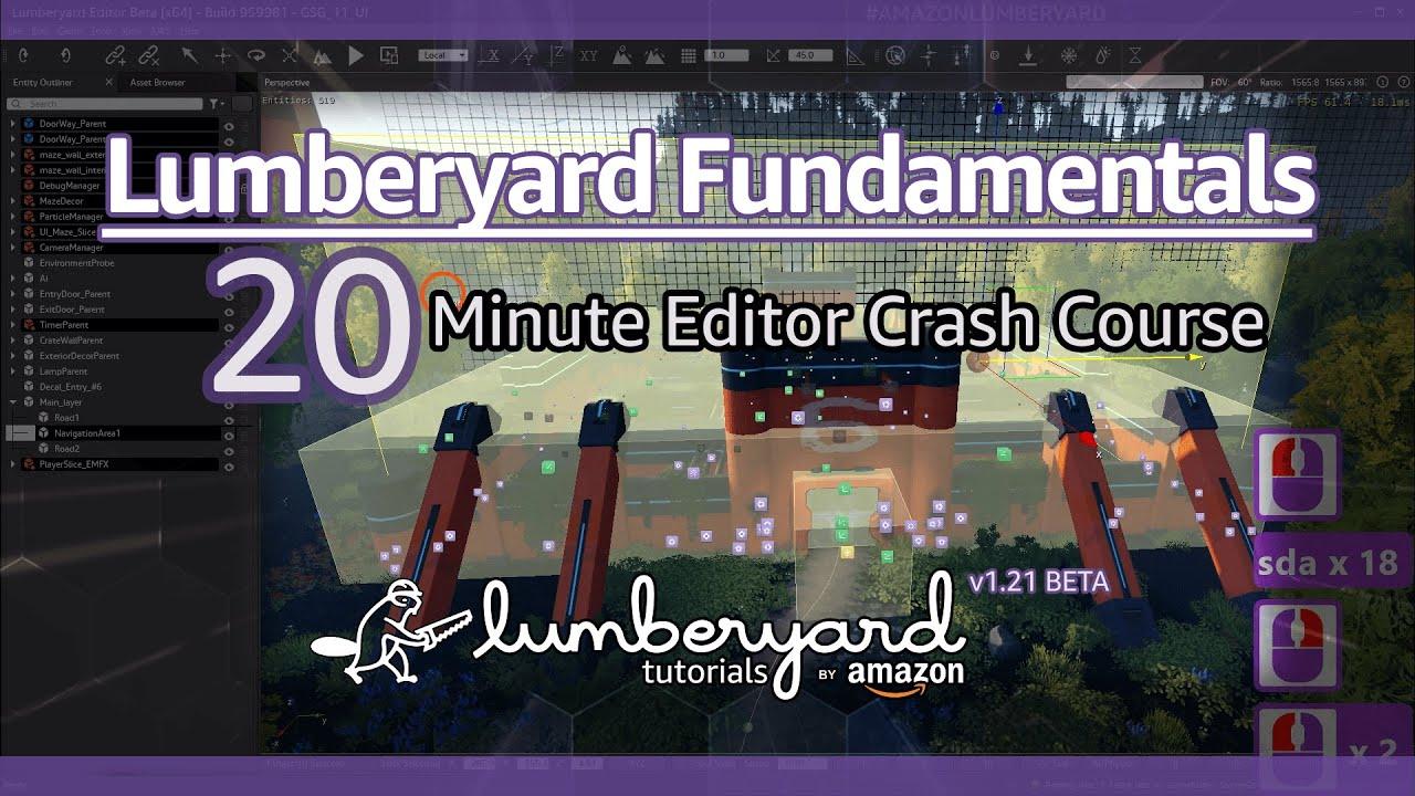 Learn Lumberyard Game Engine in 20 Minutes | Lumberyard Tutorial 2019.27