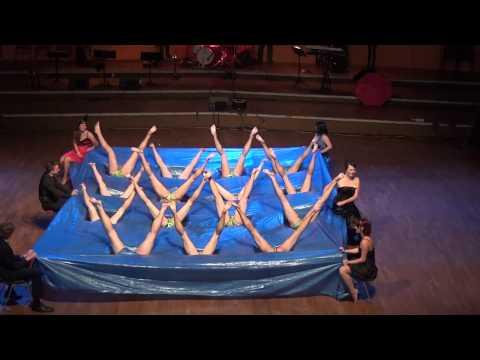 Maturitní ples gymnázia Špitálská 2014 - překvapení oktávy