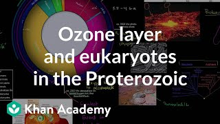 Ozone Layer and Eukaryotes Show Up in the Proterozoic Eon