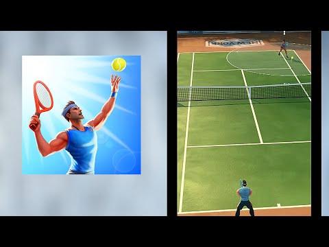 多人網球遊戲-喜歡這種簡單的經典風格