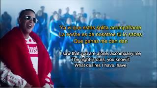 Daddy Yankee,Snow -Con calma (english translation)