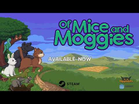 Of Mice and Moggies is an absolutely adorable puzzle game of constant cat-and-mouse