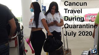 Traveling To Cancun During Quarantine P.1 #cancun #mexico #tulum #playadelcarmen #islamujeres