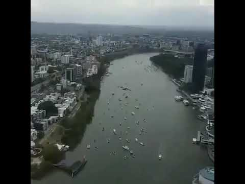 Epic Airforce display in CBD