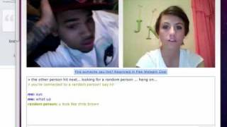 Chris Brown on Chatroulette (Victim #1)