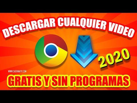 Como Descargar Videos De Cualquier Página Web Con Google Chrome 2020