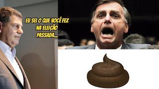 Brasil vai tremer na segunda, mas Bolsonaro já está tremendo desde agora com a ameaça do Bebianno.