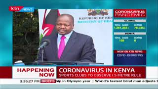 Kenya begins rapid testing using new reagents  | COVID-19 7th April 2020 Updates