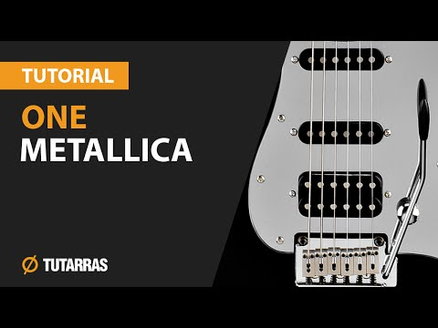 How to play ONE from METALLICA- Electric Guitar GUITAR LESSON