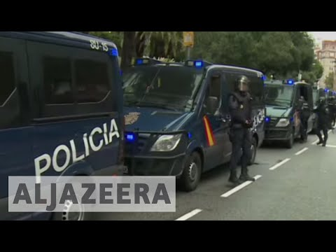 Catalonia referendum: Fierce clashes captured by Al Jazeera in Barcelona