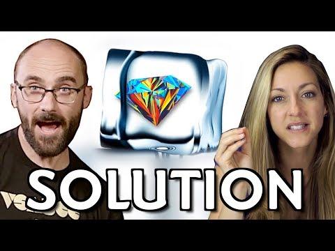 Ice Diamond Riddle SOLUTION ft. Vsauce's Michael Stevens