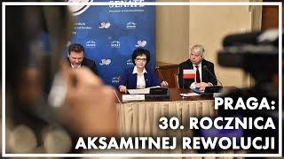 30. rocznica Aksamitnej Rewolucji. Wypowiedź Marszałek Sejmu dla mediów