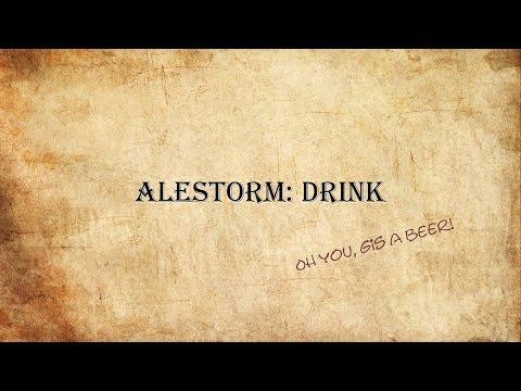 Alestorm: Drink (Lyricvideo) (old Version!)