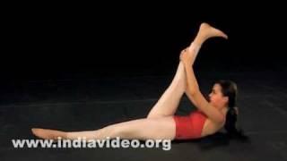 Preliminary exercise - Sarvangasana