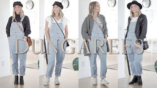 6 Ways To Wear Dungarees | Capsule Wardrobe Style Guides