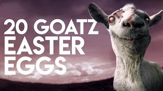 Goat Simulator: GoatZ - 20 Easter Eggs, Secrets & References