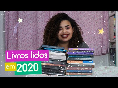 Livros lidos em 2020 + Feliz Ano Novo