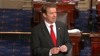 Rand Paul Filibuster Video in 3 Minutes: GOP Kentucky Senator's Extraordinary Near-13-Hour Debate