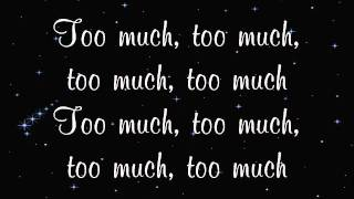 All Time Low - Too Much (Lyrics)