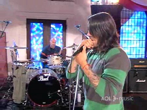 Red Hot Chili Peppers - scar tissue (AOL sessions live)