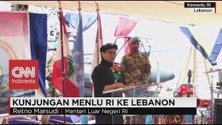 Kunjungan Menlu RI Retno Marsudi Ke Lebanon