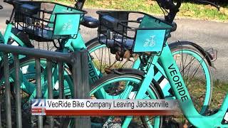VeoRide Pulls Bikes from Jacksonville