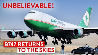 How a B747 Returns to the Skies After Years in Desert Storage?