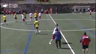 preview picture of video 'FC Santa Coloma campió de lliga! FCSC - UE Santa Coloma (play-off 2009/10)'