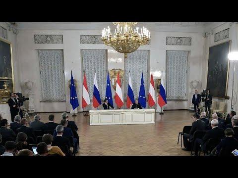 Αυστρία-Ρωσία: Επί τάπητος τα ενεργειακά
