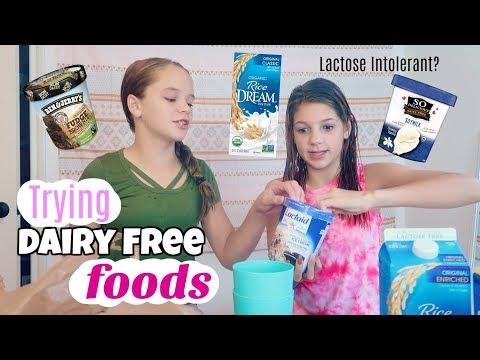 Dairy-Free Taste Test | Lactose Intolerant?