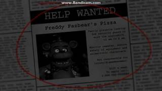 Mi Primer Vídeo Noche 1 (five Nights At Freddy's)