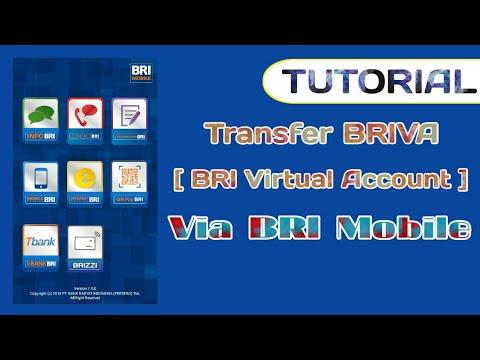Cara Transfer BRIVA (BRI Virtual Account ) melalui BRI Mobile