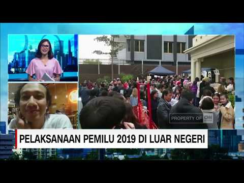 Live Skype WNI di Mellbourne, Australia  - Pelaksanaan Pemilu 2019 di Luar Negeri