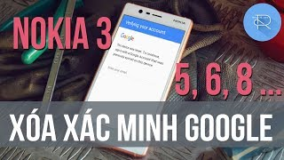 How To Bypass Google Account Nokia 3 | 5 | 6 | 8 Android 7 0 | 7 1 1