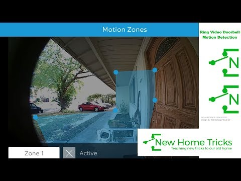 Ring Video Doorbell Motion Detection