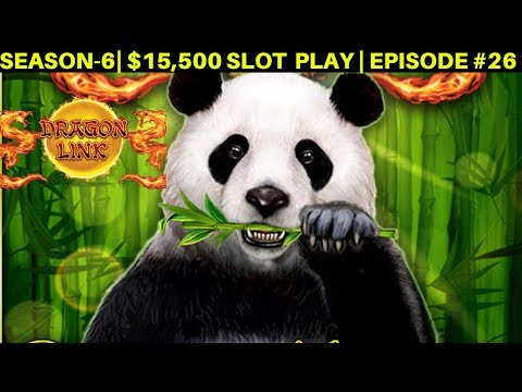 High Limit Dragon Link Panda Slot Machine Live Play & Bonuses Up To $40 BET | SEASON 6 | EPISODE #26