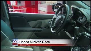 Honda Odyssey Van Recall