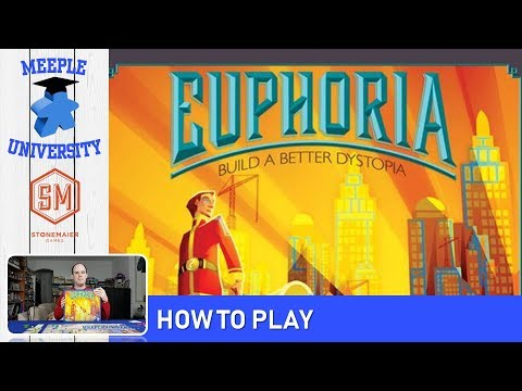 Euphoria: Build a Better Dystopia Board Game – How to Play & Setup