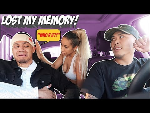 I LOST MY MEMORY PRANK ON EX-GIRLFRIEND! *SHE CRIED*