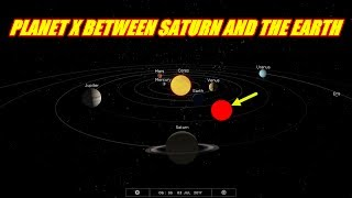 PLANET X IS NOW BETWEEN SATURN AND THE EARTH JULY 3RD 2017