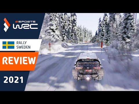 E-sports WRC2021 スウェーデン ハイライト動画
