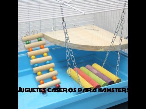 Juguetes caseros para hamster #1! ♥