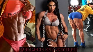 Azaria Glaim Most Beautiful & Muscular Fitness Model | Female Fitness Motivation