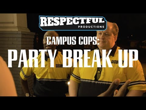 Campus Cops: Party Break-Up
