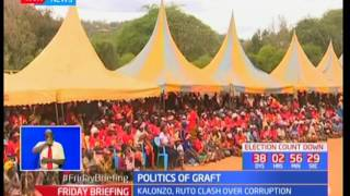 Jubilee challenges NASA over graft issues during campaigns as they tour Kitui County