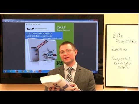 U.S. Customs Broker License Examination Preparation Guide (3d ...